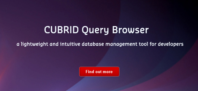 CUBRID Query Browser